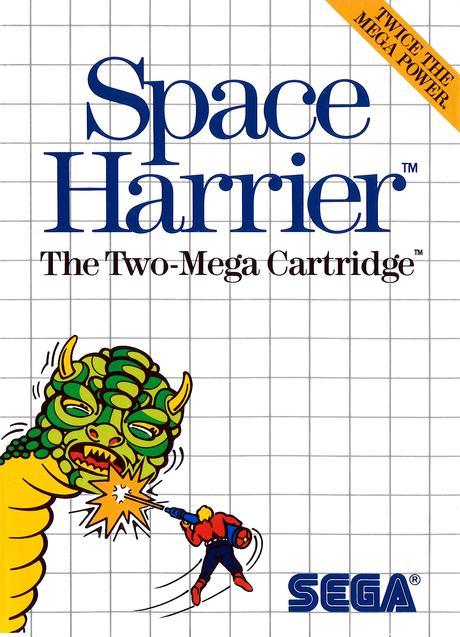 [Box Art] Space Harrier