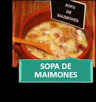 SOPA DE MAIMONES