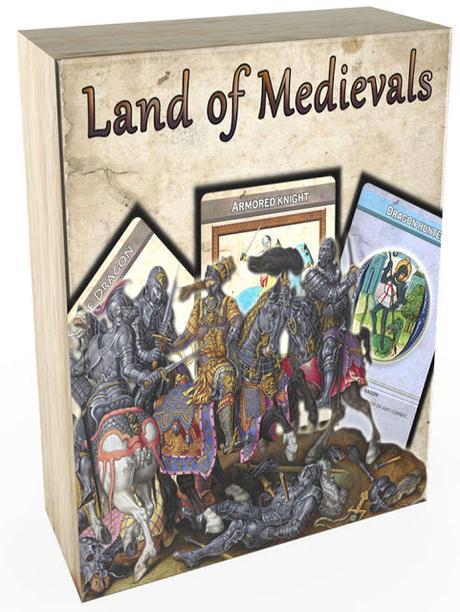 Land of Medievals Print & Play, de Teamclockworks