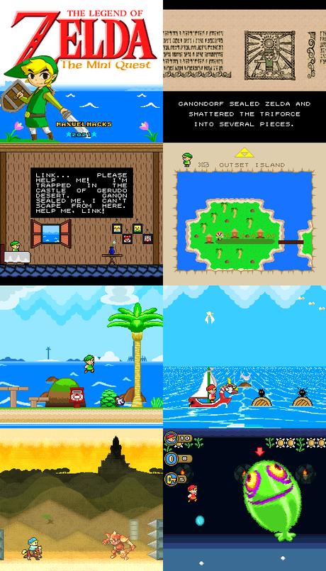 [ROM hack] The Legend of Zelda – The Mini Quest (Super Nintendo)