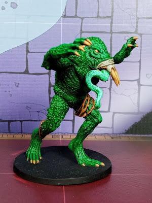 Monstruo rana gigante