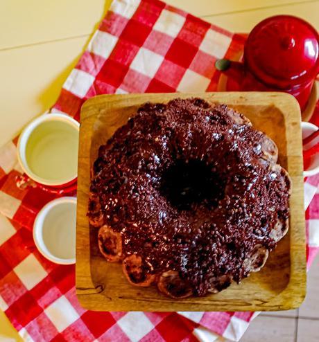Zucchini and Chocolate Bundt Cake