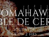Tomahawk doble cerdo (sous vide)