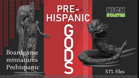 Pre-hispanic Gods, de Infinite Besatiary, en Kickstarter