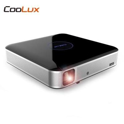 Proyector DLP COOLUX S3 Pro Home Theater 1100 ANSI 1280 x 800P Soporte 4K 2