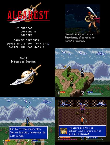 Alcahest de Super Nintendo traducido al español
