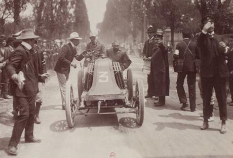 carrera automovilística parís-madrid (1903): muerte