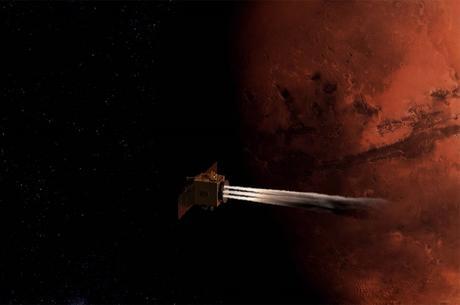 La sonda Hope alcanza la órbita de Marte
