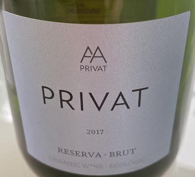 Cava Privat Brut Reserva 2017, del grupo Castillo de Perelada
