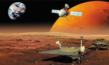 Tianwen-1 entra en órbita alrededor de Marte