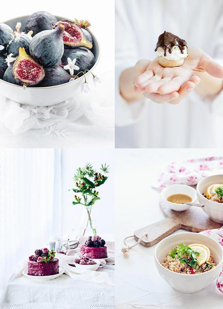 fotografía culinaria clara y luminosa
