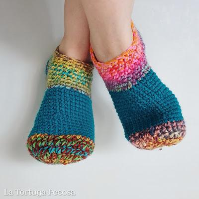 WINTER CROCHET SLEEPERS