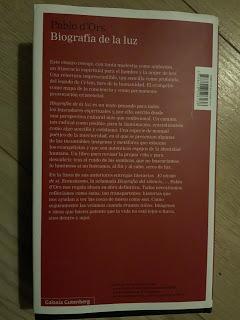 Biografía de la luz, Pablo d'Ors lo consigue de nuevo.     Biography of light, Pablo d'Ors succeeds again.     光之傳,巴勃羅·德·奧爾斯再次成功。