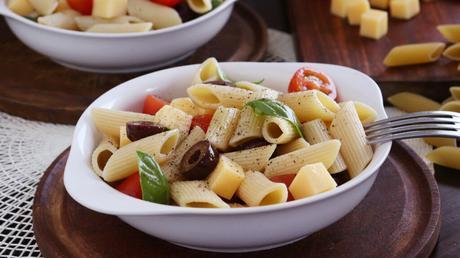 ensalada de pasta fideos fria