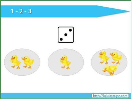6 juegos matemáticos para 3 años