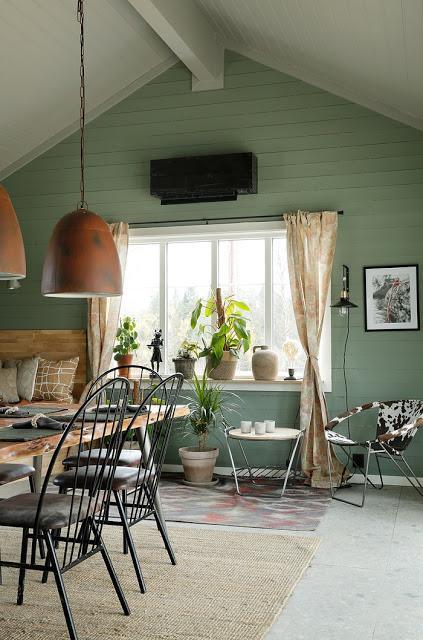 Casa de Madera , estilo Rustico en Noruega