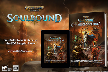 Soulbound: Champions of Order en pre-pedidos