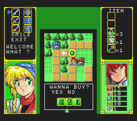 Galmoon de MSX2 traducido al inglés