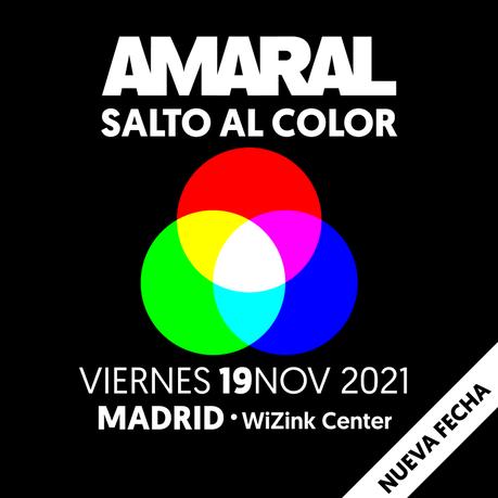 Amaral aplaza su concierto en el WiZink Center hasta noviembre