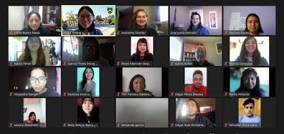 REALIZAN ESTUDIANTES DE LA UNIVERSIDAD INTERCULTURAL CURSOS DE INGLÉS EN LÍNEA EN INSTITUCIONES DE CANADÁ Y NUEVO MÉXICO