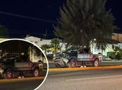 registra choque Lomas había sido reportado como balacera