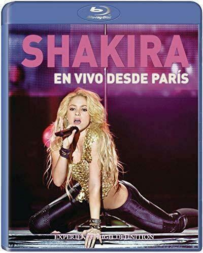 Hips don t lie charity single shakira out of the blue. Shakira: Live from Paris (Blu-ray Disc, 2011) for sale ...