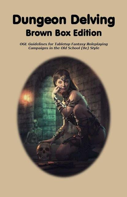 Dungeon Delving Brown Box Edition (No Art),  de RetroRoleplaying
