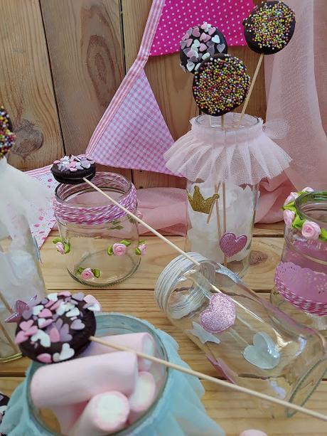Piruletas de galletas Oreo Cumpleaños, fiestas, mesas dulces, comuniones, bautizos bodas, ideas originales, chocolate, decoración de azúcar, sin horno, fácil, chocolate, candybar Cuca