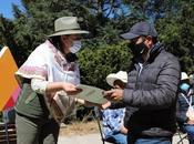 Entrega apoyos cuidadores bosques mexiquenses