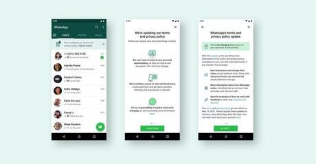 WhatsApp sigue con su plan de actualizar su política de privacidad, pero nos mostrará un banner para informarnos.