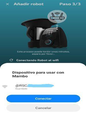 Fallo al Conectar Mambo Cecotec 10900 o 10070 al Teléfono