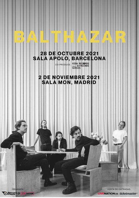 Balthazar: conciertos en Barcelona y Madrid
