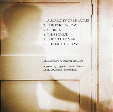 King Crimson -  A Scarcity of Miracles (2011)
