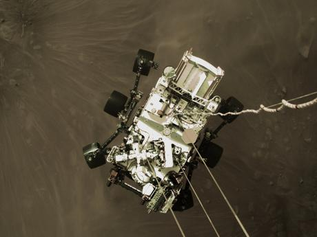 Perseverance aterriza en Marte