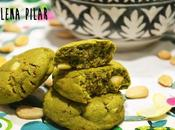 Cookies matcha chocolate blanco