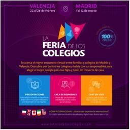 La Feria de los Colegios de 2021 será completamente online