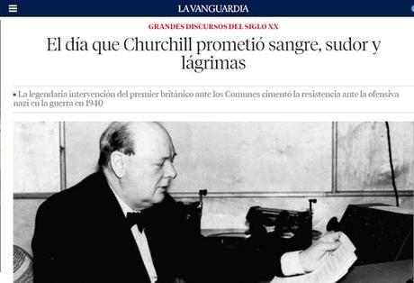 Histórico discurso churchil:
