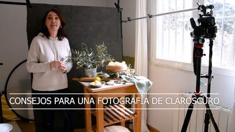 fotografía culinaria de claroscuro