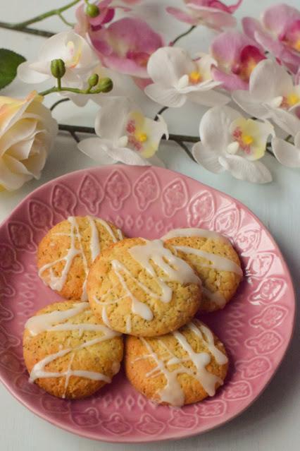 Galletas Veganas de Limón y Semillas de Amapola