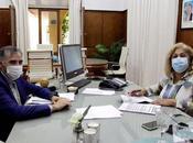 Firman convenio específico Superintendencia Riesgos Trabajo