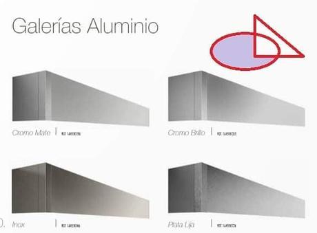 - Galerías Aluminio.