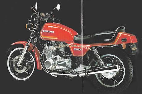 Suzuki GS850G 1982