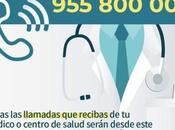 posible unificar número teléfono centros salud para usuario sepa quién llama? Unifying telephone number Health System. 統一衛生系統的電話號碼。