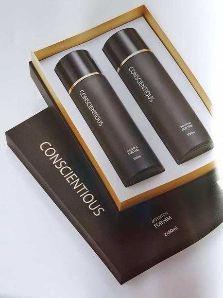 Beauty Conscientious Spray For Him 2x60ml Per Box Lazada Singapore