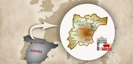 Resultado de imagen de toro zamora mapa