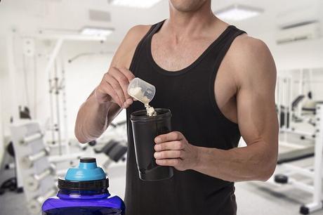 Mezclar un batido de proteínas