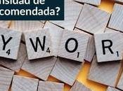 ¿Cuál densidad palabras clave recomendada?