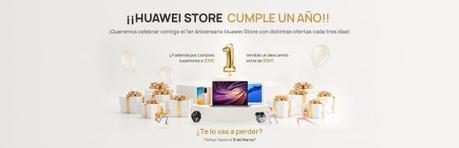 Huawei Store celebra su primer aniversario