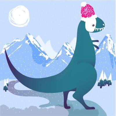 Un dinosaurio al día por Pauline Guffroy