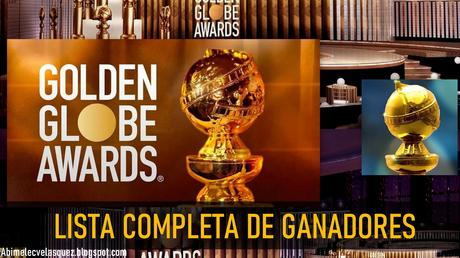 LISTA COMPLETA DE GANADORES A LOS GOLDEN GLOBES 2021